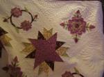 My rose applique quilt