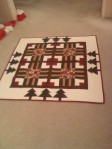 Christmas game board quilt